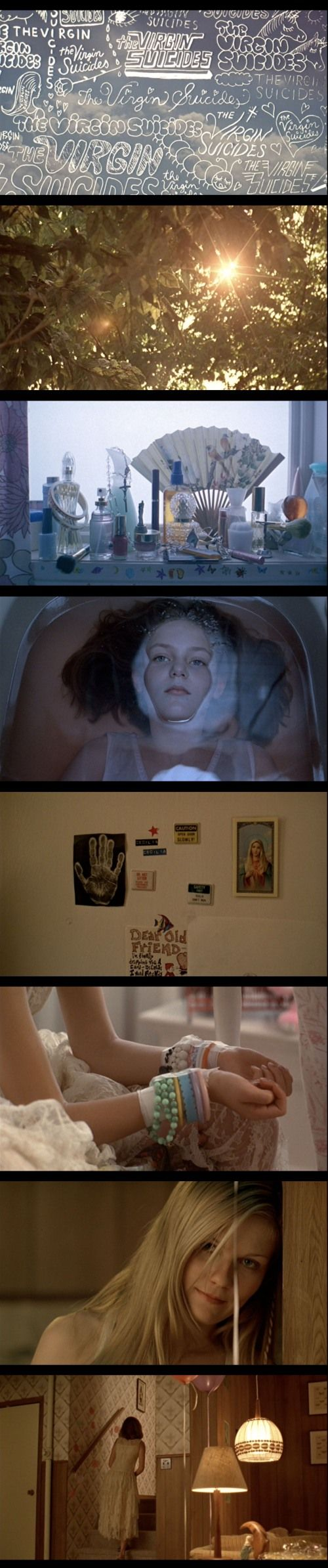The Virgin Suicides.  (Especially Lux & Cecilia Libson.)