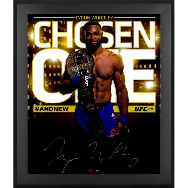 """Tyron Woodley Ultimate Fighting Championship Fanatics Authentic Framed Autographed 20"""" x 24"""" In Focus Photograph - $99.99"""