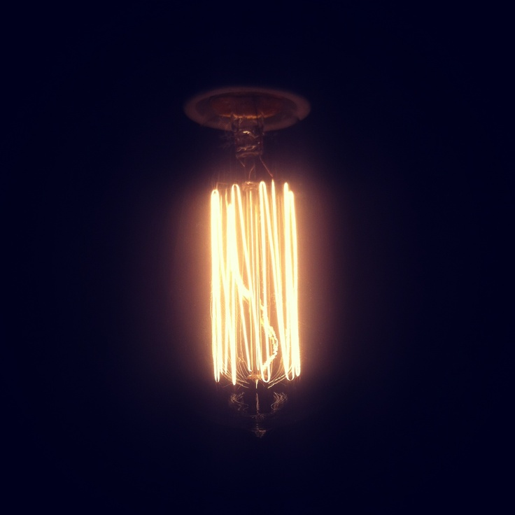 We love our funky light globes.