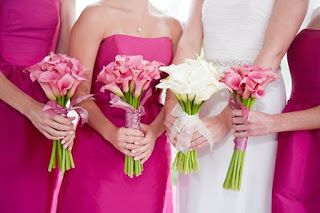 Bouquet damigelle d'onore - Castello dei Solaro