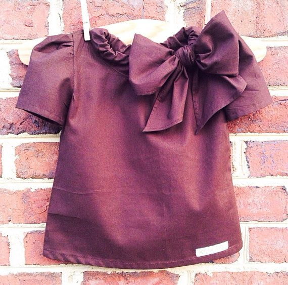 Teddy Bear - Girls Fashion Shirt - Large Bow - Kids Fashion on Etsy, $26.99