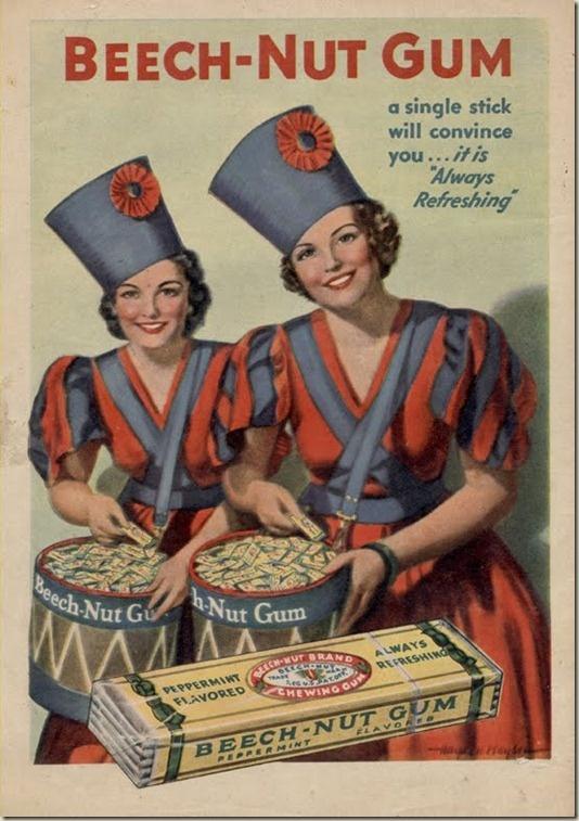 1930's Ad for Beechnut Gum