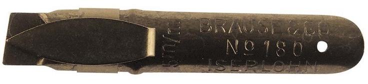 Plumilla Brause: especial caligrafía: 5 mm - Tienda especializada en material para las Bellas Artes