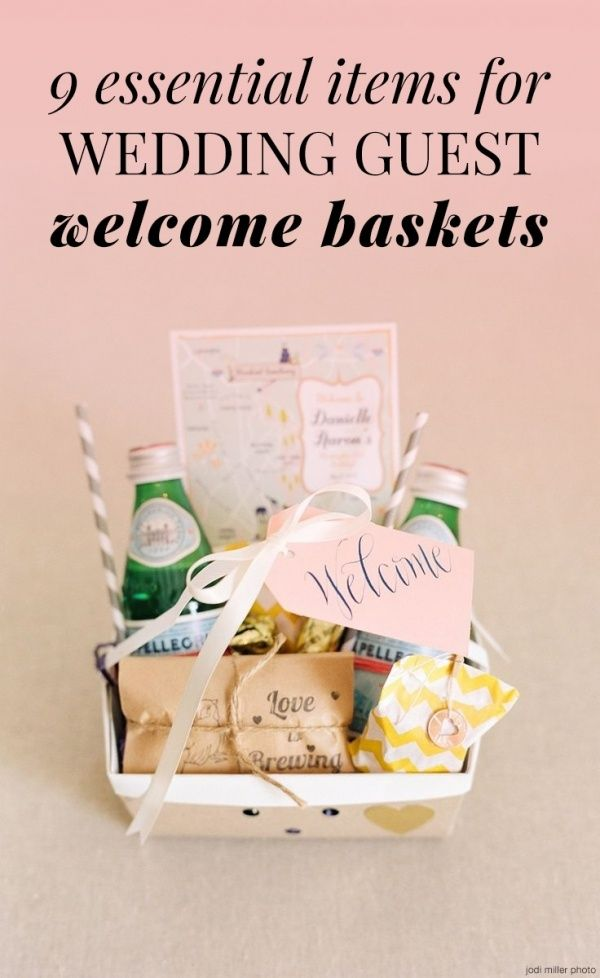 17 Best Images About Weddings Gift Bags For Out Of Town