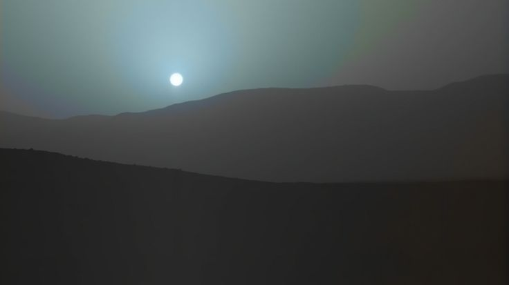 TIL mars' sky has the opposite colors of earth's. Sunsets and sunrises are blue while during the day we see the familiar rust color.