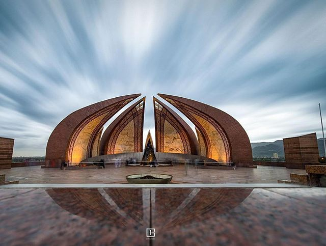 The Pakistan Monument On Shakarparian Hills In Islamabad