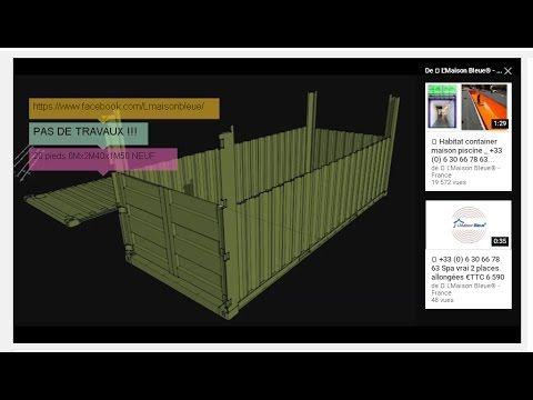 les 25 meilleures id es de la cat gorie conteneur 20 pieds sur pinterest portail de jardin b. Black Bedroom Furniture Sets. Home Design Ideas
