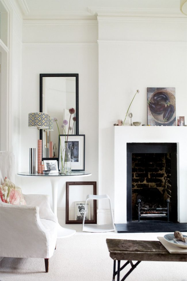 A renovated house in London    A three-story Edwardian house in west London has been transformed by one of top UK Interiors stylist.