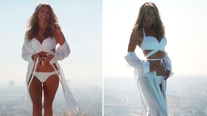 Christie Brinkley shows off bikini body at age 60