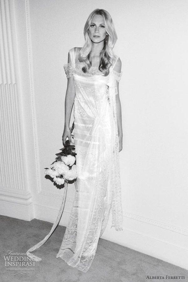 Alberta Ferretti Wedding Dresses — Forever 2012 Bridal Collection | Wedding Inspirasi