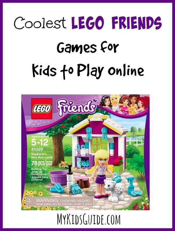 Coolest LEGO Friends Games for Kids to Play Online: Looking for the Coolest LEGO Friends Games to play online? Check out our favorite options that your LEGO Friends fans will absolutely love!