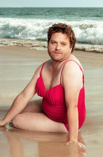 The Zach Galifianakis Swimsuit Calendar. This is hilarious.