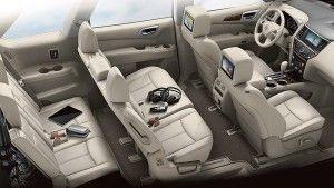 2015 Nissan Rogue interior