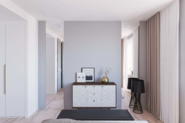 Дизайн-проект квартиры на ул. 1905 года / Блог им. geometrium / Архимир