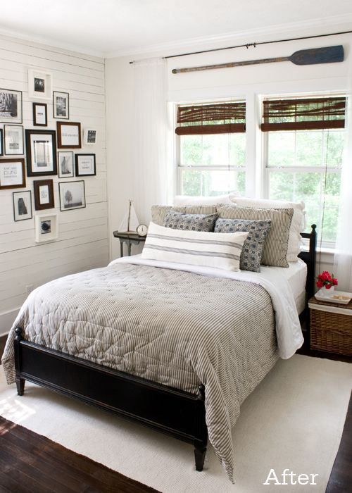 coastal done rightCottages Bedrooms, Guest Bedrooms, Master Bedrooms, Letters Cottages, Nautical Bedroom, Gallery Wall, Guest Rooms, Bedrooms Ideas,  Day Beds