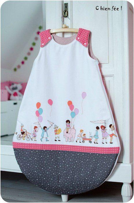 Спальный мешок для новорожденного (Шитье и крой)   Журнал Вдохновение Рукодельницы