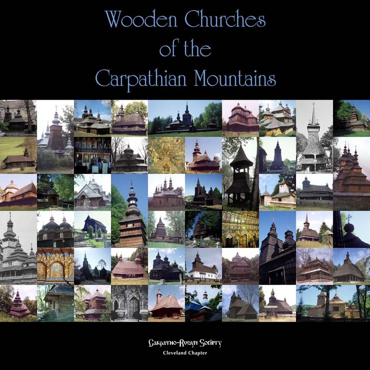 Wooden churches of the Carpathian Mountains (Slovakia)