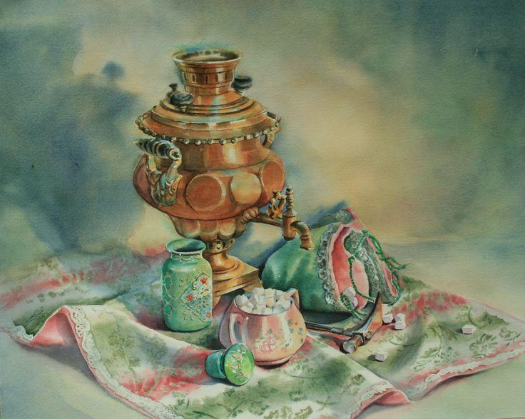 Homa Eftekhar. Tea Time