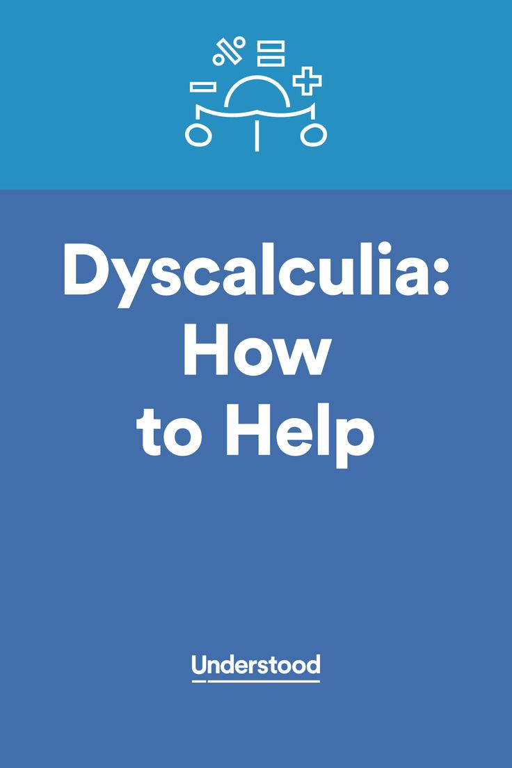 Ways you can help your child with #dyscalculia