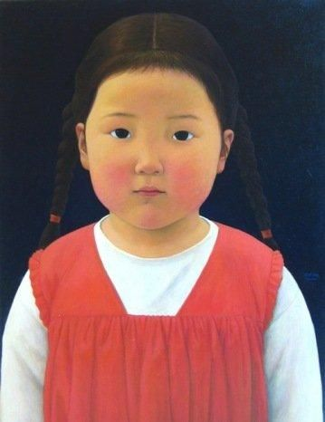xue mo | Xue Mo, Sarula, 2010, oil on linen, 34 x 25 inches