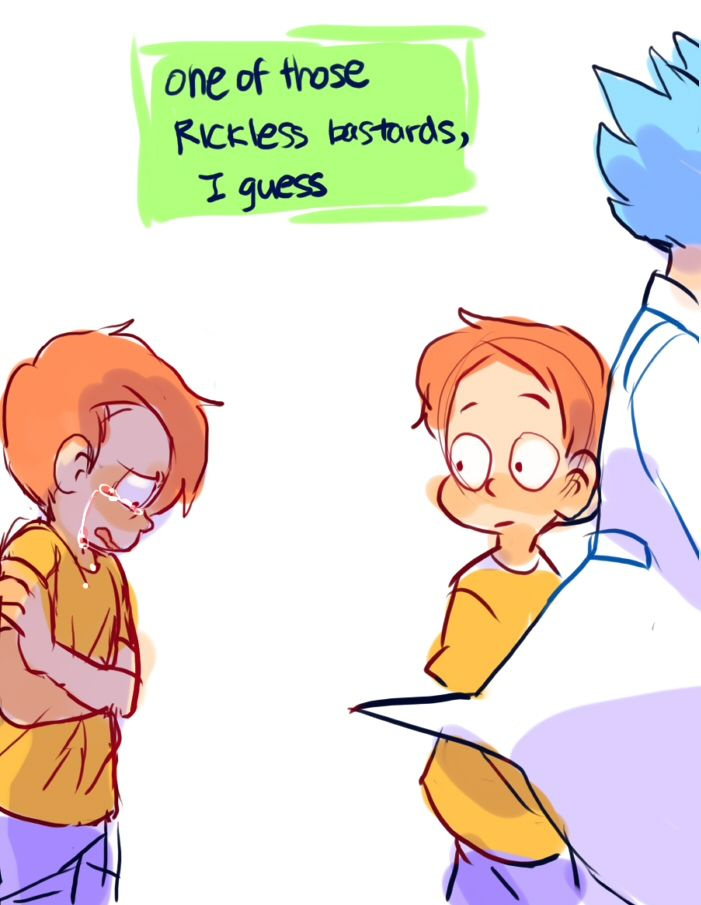 ttoba's Art Blog — Rick and Morty Requests #1 / #2 / #3 / #4 That...