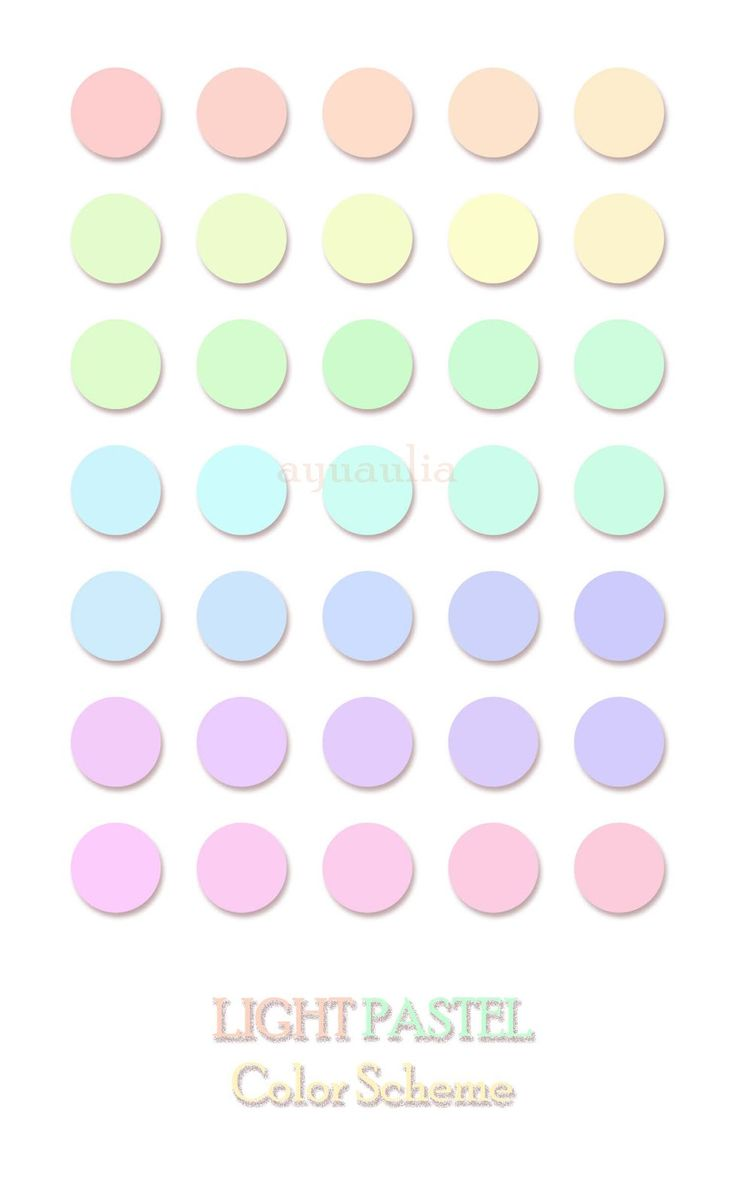Pastel Colors House Of Laiqa Light Pastel Color Scheme