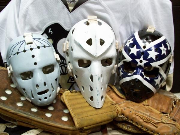 gary edwards vintage goalie masks