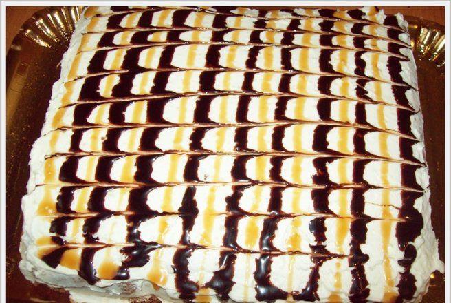 Retete Culinare - Prajitura cu crema de vanilie