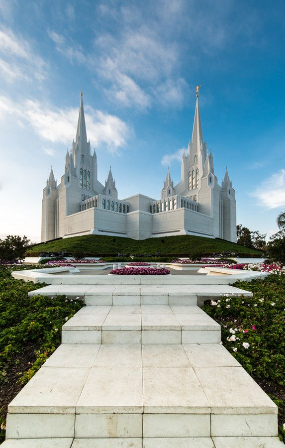 San Diego Temple.  I can't tell you how beautiful this place is, My dream is to get sealed here! I would feel like a true princess