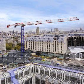 Liebherr Construction – Liebherr tower cranes in Paris