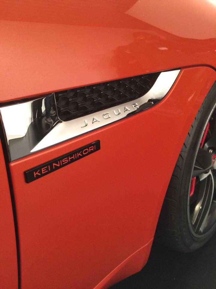Jaguar Kei Nishikori limited edition #錦織圭