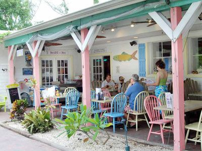 "The Island Cow. Voted Sanibel Island's ""Best Island Family Dining"".   on Sanibel Island.    Cheesy Grits yum"