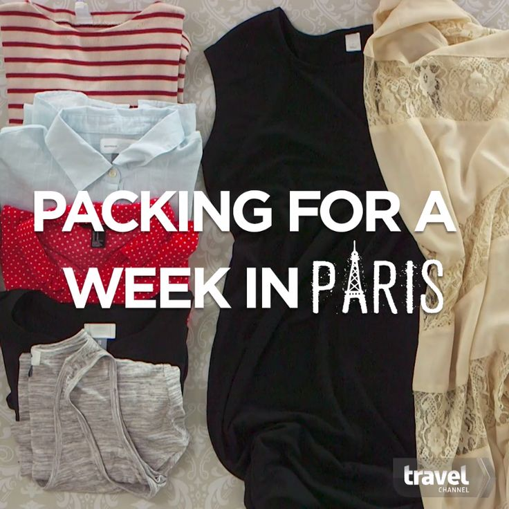 Pack the Perfect Outfits for a Week in Paris!