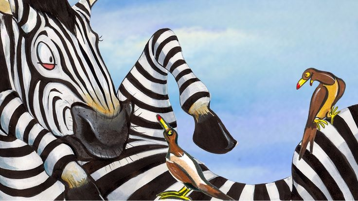 """Zippy the Zebra: Learn Spanish with subtitles - Story for Children """"Book..."""