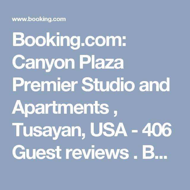Booking.com: Canyon Plaza Premier Studio and Apartments , Tusayan, USA  - 406 Guest reviews . Book your hotel now!