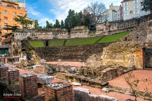 Trieszt római színház