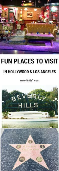 Fun place to visit in Hollywood. Fun places to visit in Los Angeles. Things to do in Hollywood. Things to do in Los Angeles. California. Travel to California. Beverly Hills. Disneyland. Friends TV Show Freinds.
