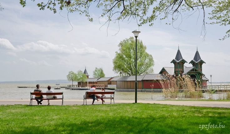 Keszthely (pron. kest-hei), Lake Balaton, Hungary
