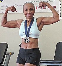 Meet a 77-year-old female bodybuilder - CNN.com Video Ernestine Shepherd is an inspiration