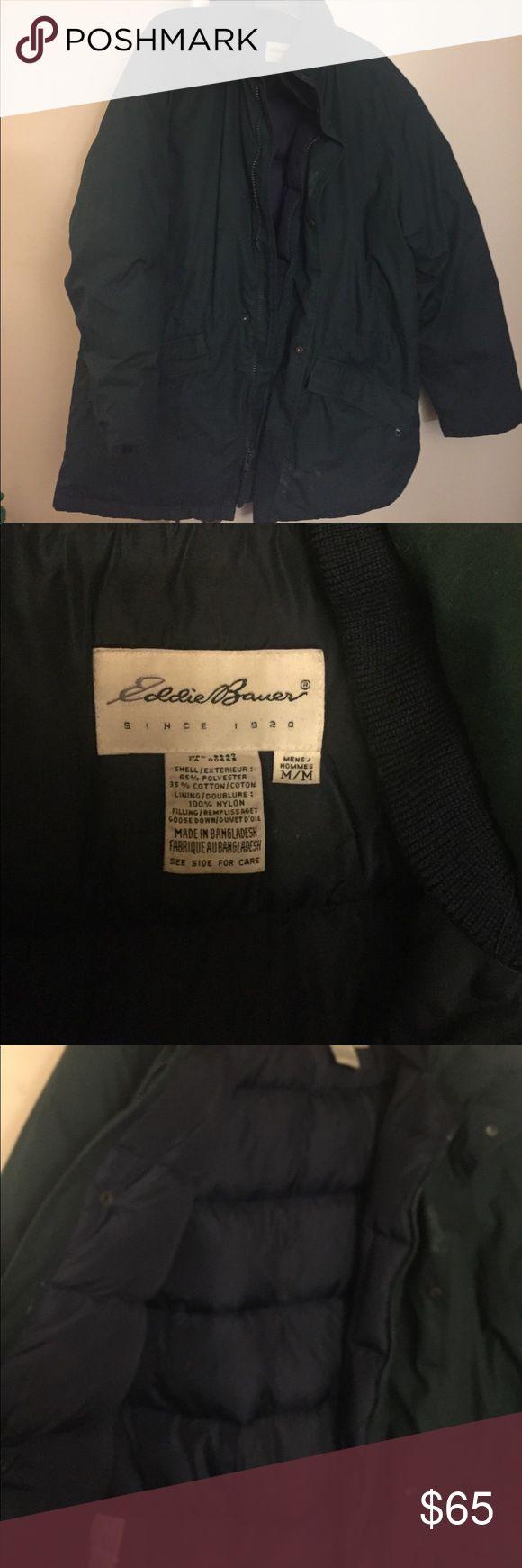 Eddie Bauer Men's Goose down coat Size medium Eddie Bauer coat Eddie Bauer Jackets & Coats Puffers