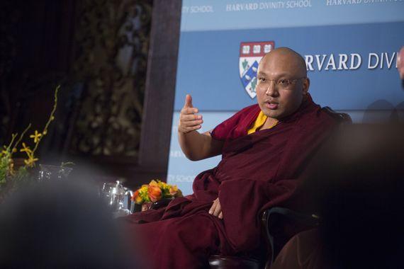 Tibetan Buddhist Leader Blazes an Innovative Trail   Tricycle