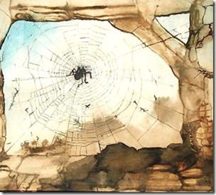 One of Victor Hugo's own drawings.