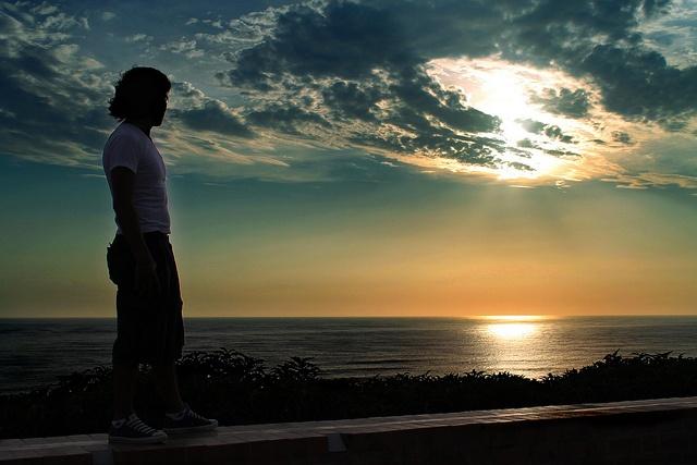 Contemplando la inmensidad de la creación.