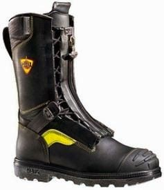 This is One Hot Boot! The Haix Fire Boot Flash Xtreme is the ultimate in protective footwear. This 10 inch firefighting boot features a leather exterior that's water and scuff resistant.