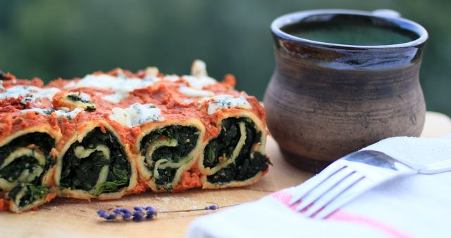 Čo dnes variť? Špenátové lasagne.