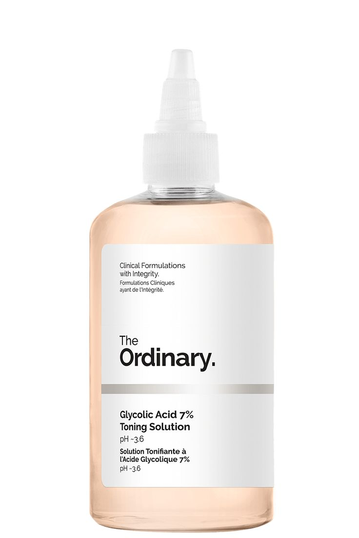 The Ordinary Glycolic Acid 7% Toning Solution, $8.70 CAD for 240ml from DECIEM