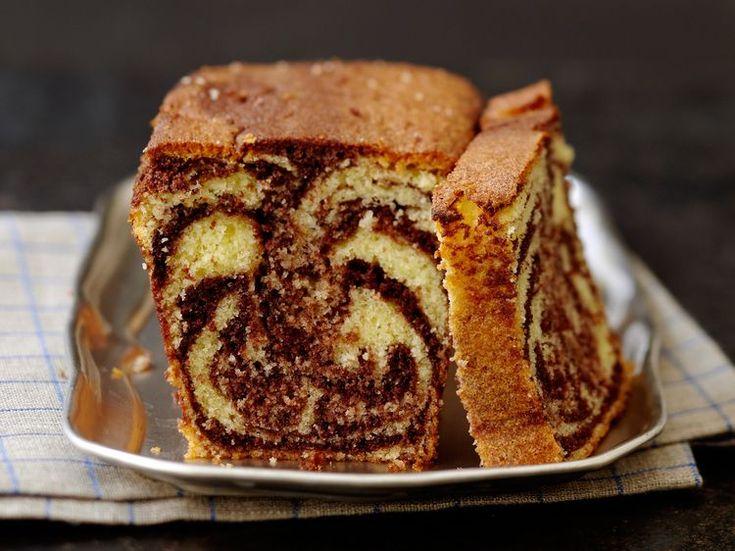 Découvrez la recette Cake marbré facile sur cuisineactuelle.fr.