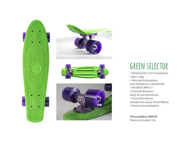 Amplify those smooth tunes and deep bass for the cruz.iest ride. But be warned, strictly for lovers of the green only - #greenselector #cruzeskateboards