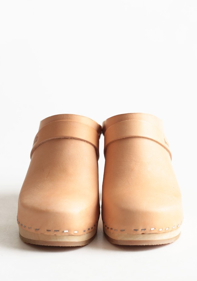 High Clogs By Swedish Hasbeens