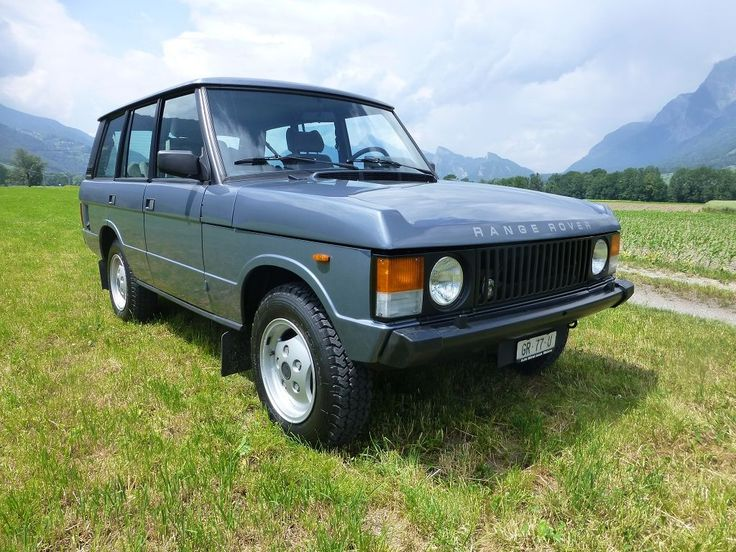 1984 Land Rover Range Rover - Range Rover Classic